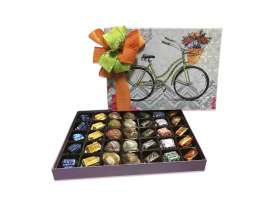 Caja de Bombones  Regalo Bicicleta