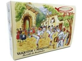 Caja de Vasquitos y Nesquitas. Tamaño Grande.- 960 gr.