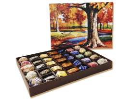 Autumn Leaves Box./ 35 bombones surtidos