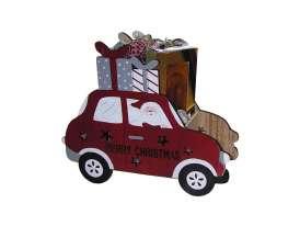 Coche Rojo Santa/ Especialidades y Turrón