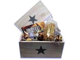 Caja Estrellas Blanca B2 / Especialidades y Turrón