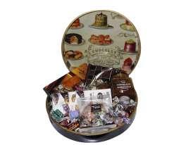 Bandejas chocolate redondas/ Especialidades y Turrón