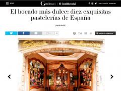 Diez Exquisitas Pastelerías de España