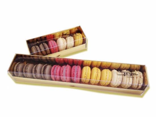Caja de Macarons Surtidos. Selección 12 unidades
