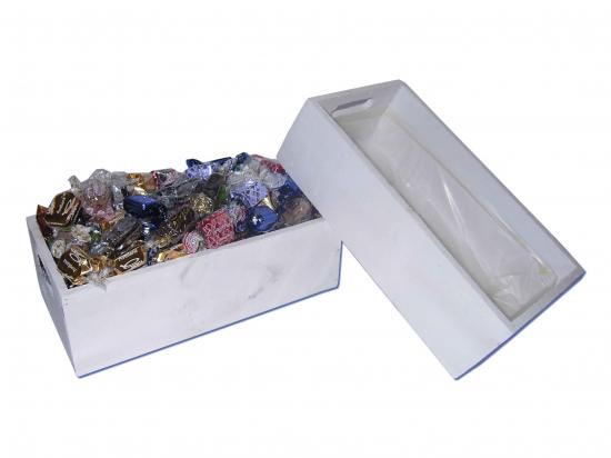 Caja Rect. Madera Blanca/ Surtido Especialidades