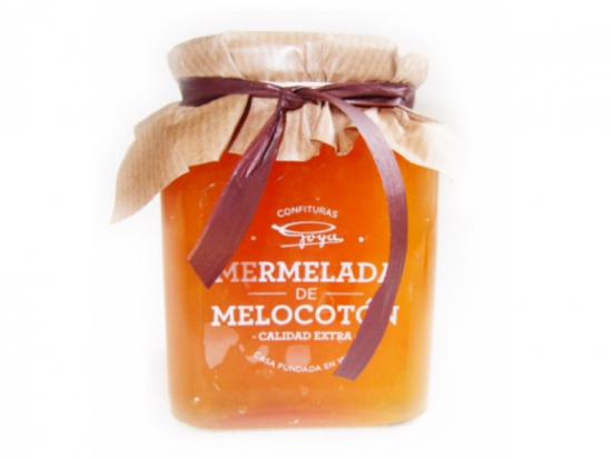 Mermelada de Melocotón./ Contiene 350 gramos
